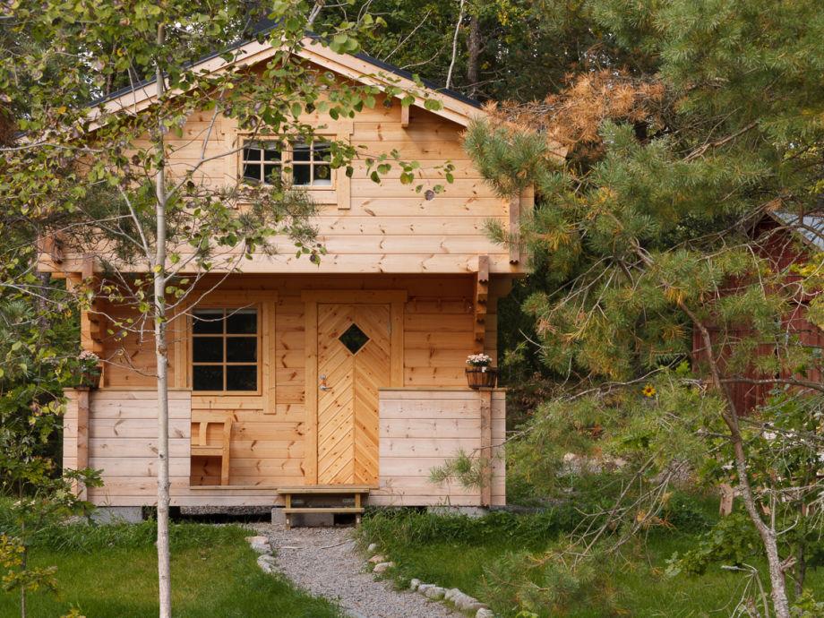 Die Naturhütte in Timmerbauweise