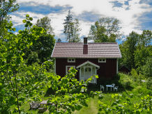 Ferienhaus Långö am See Vrigstadsån - Rusken