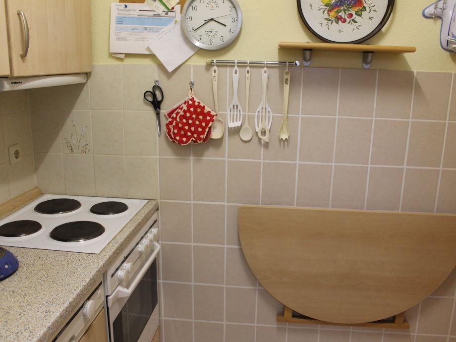 Ferienhaus wattn huus nordsee dangast firma christine for Wandklapptisch küche