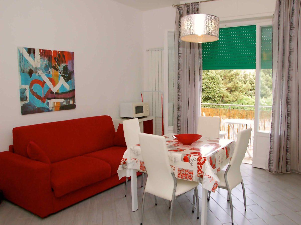 Küchenzeile Wohnzimmer ~ ferienwohnung berlese, toskana, san vincenzo firma eden immobiliare snc frau simonetta