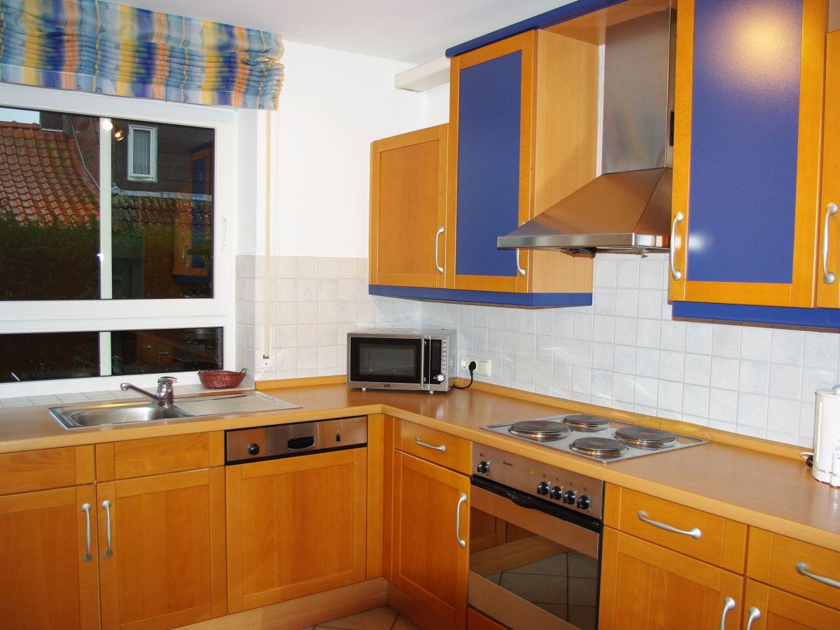 Große küche schlafzimmer 1 mit doppelbett 180x200 schlafzimmer 2 mit