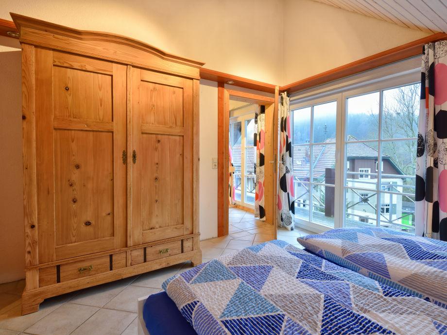 Ferienhaus Schwarzwald Schlafzimmer