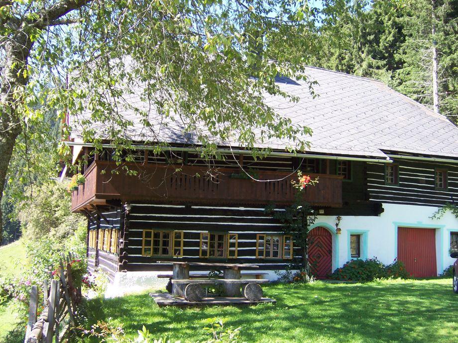 Außenaufnahme Altes Bauernhaus