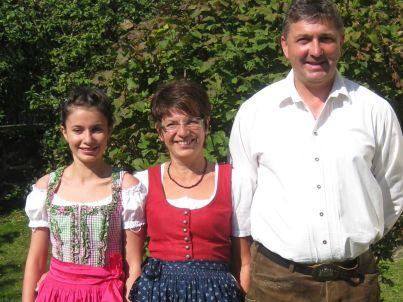 Ihr Gastgeber Sabine und Anton Mühlbauer