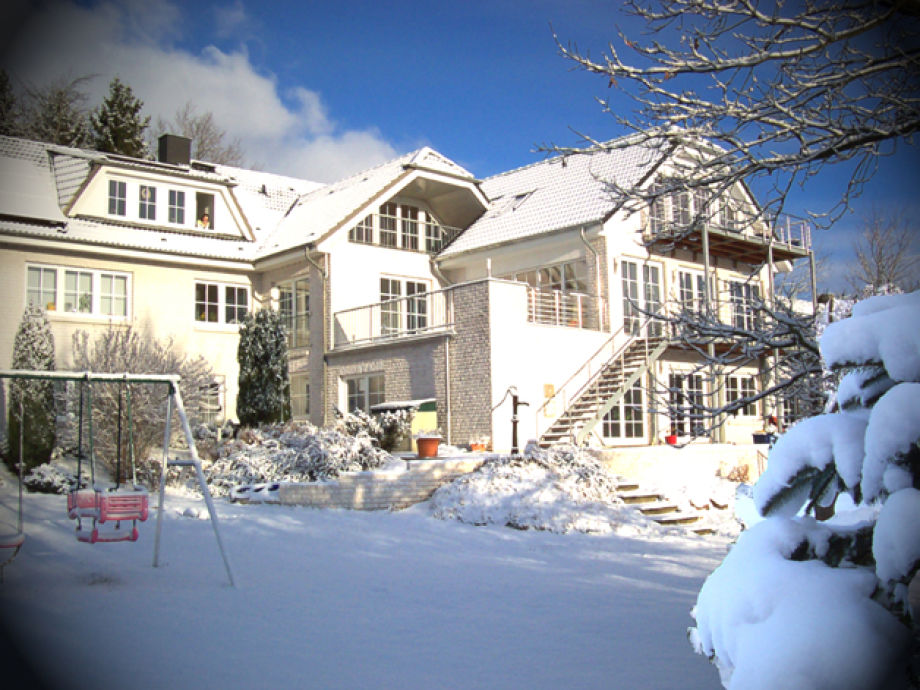 Guesthouse Vogelsang in wintertime