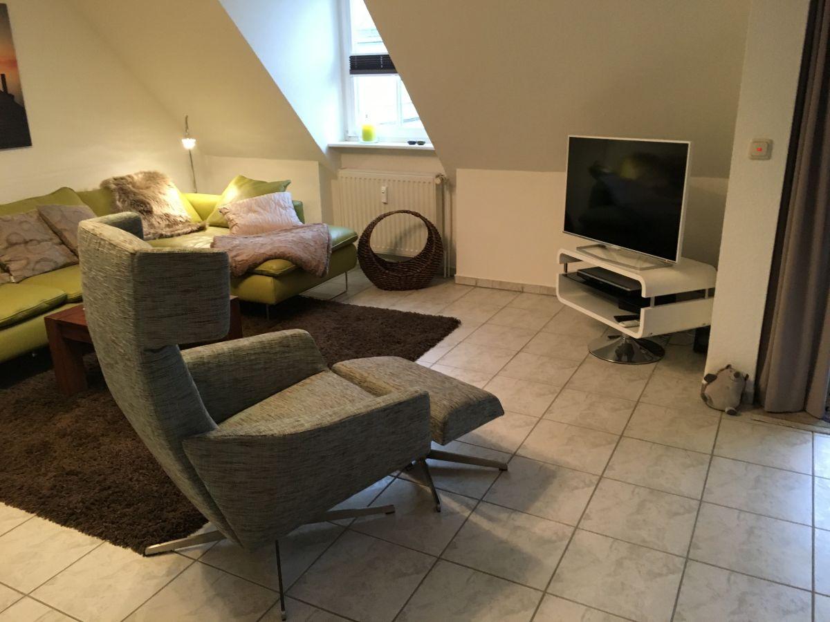 Ferienwohnung roses altstadtblick nordfriesland familie for Tv fernsehsessel
