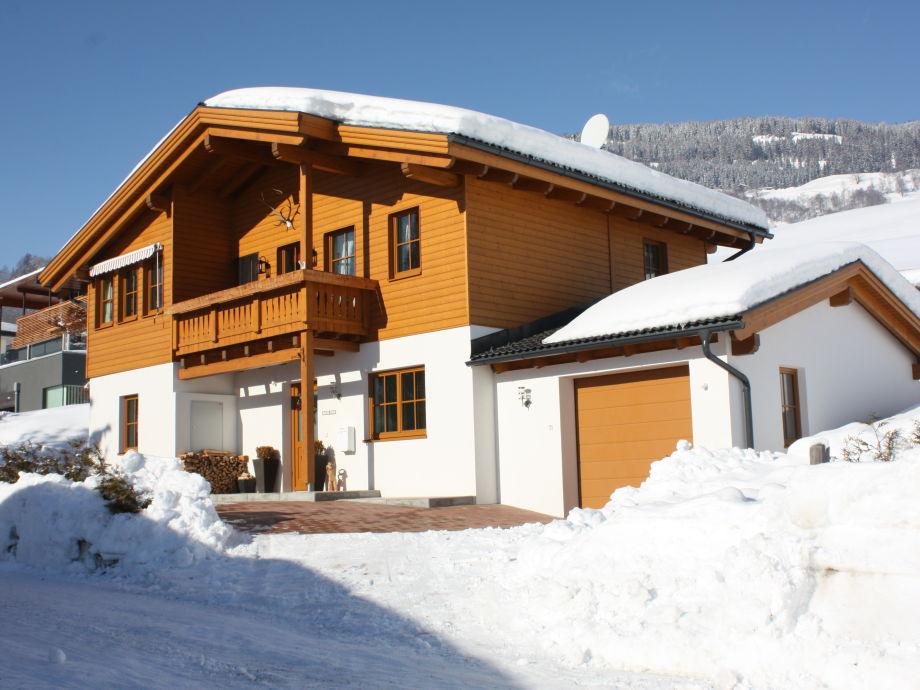 Chalet Tobo im Winter