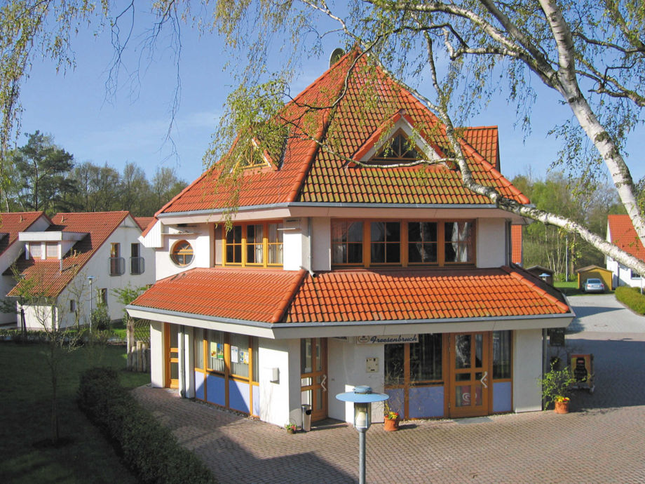 Rezeption und Restaurant Waldhaus