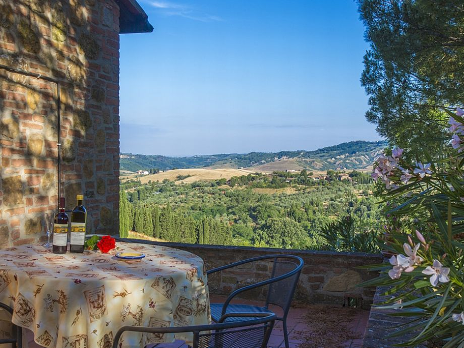 Haus Olmo - Terrasse mit wunderbarer Aussicht