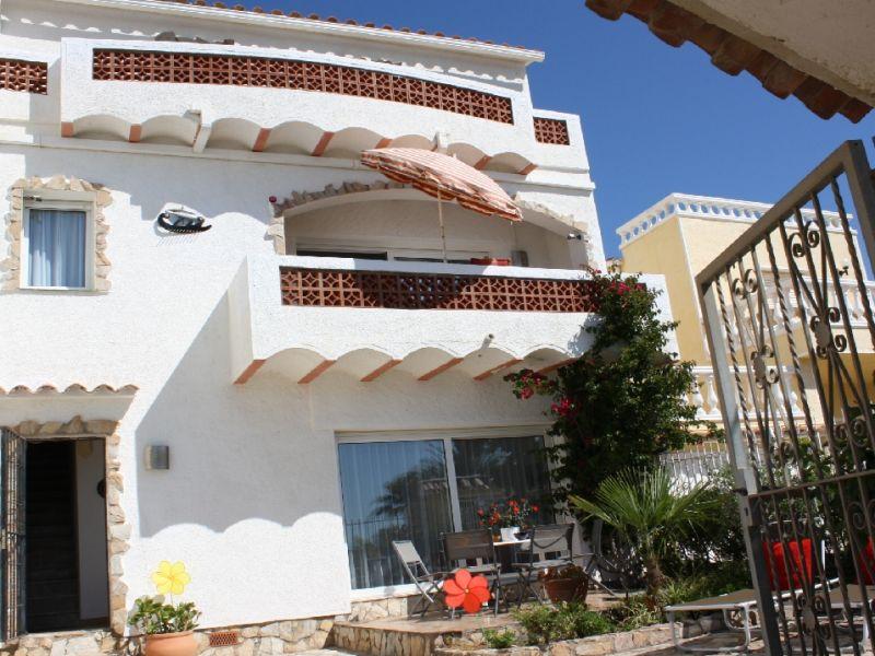 Ferienhaus Casa Port Primer, direkt am Strand f. 8 Pers.