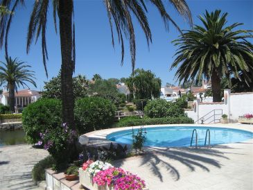 Holiday house Casa Anja f. 5 pers. with pool and mooring