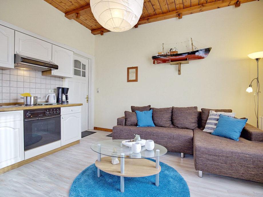 Küche und Couchbereich