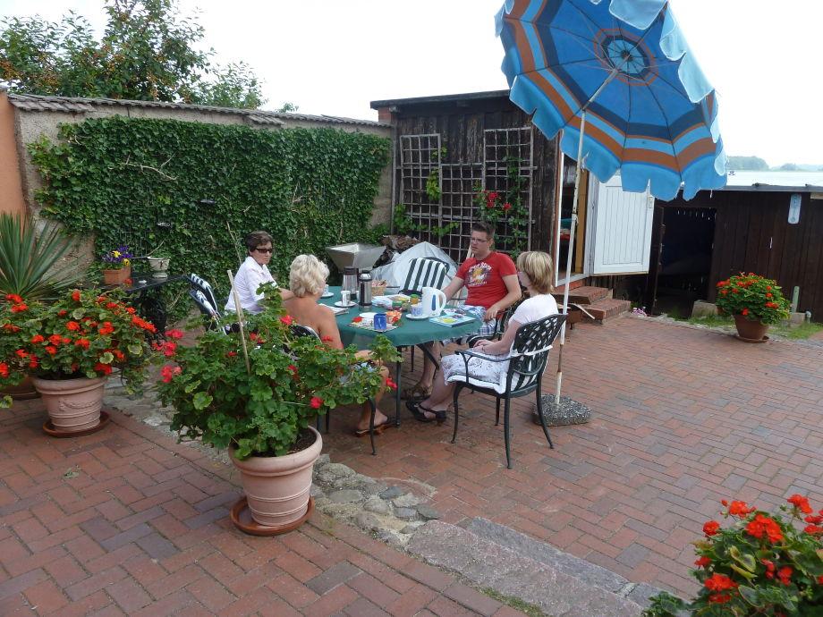 Garten mit Terrassen
