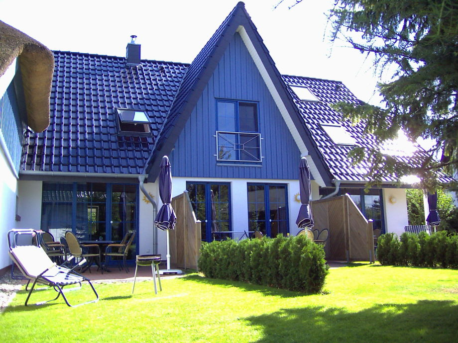 Terrasse Ferienhaus Kogge (links)