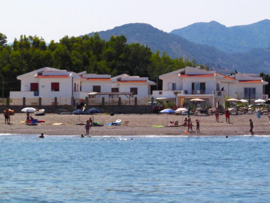 Le Ancore liegt direkt am Strand