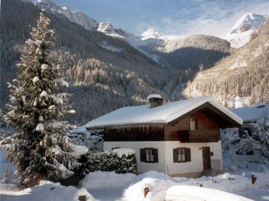 Ferienhaus LUX im Winter