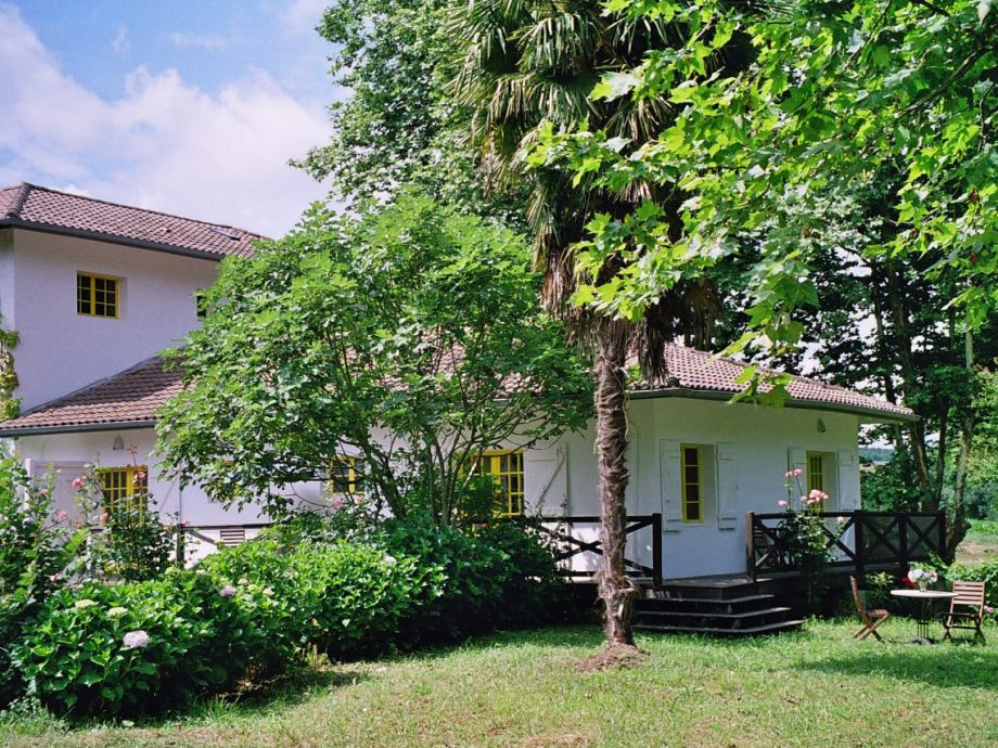 Haus 'Moulin' vom Garten gesehen