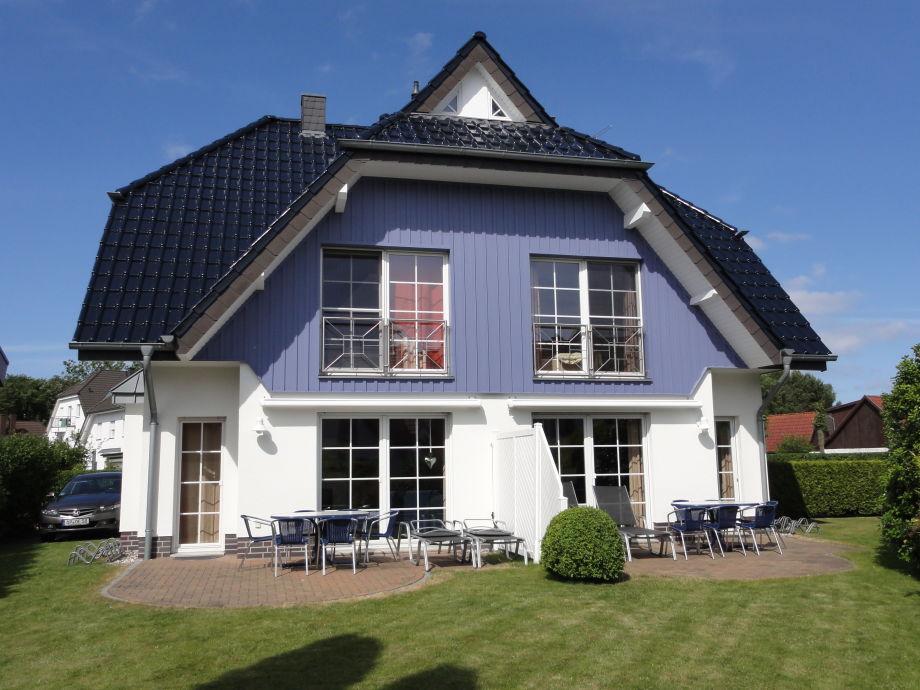 Doppelhaus mit Terrasse und Garten/Südseite