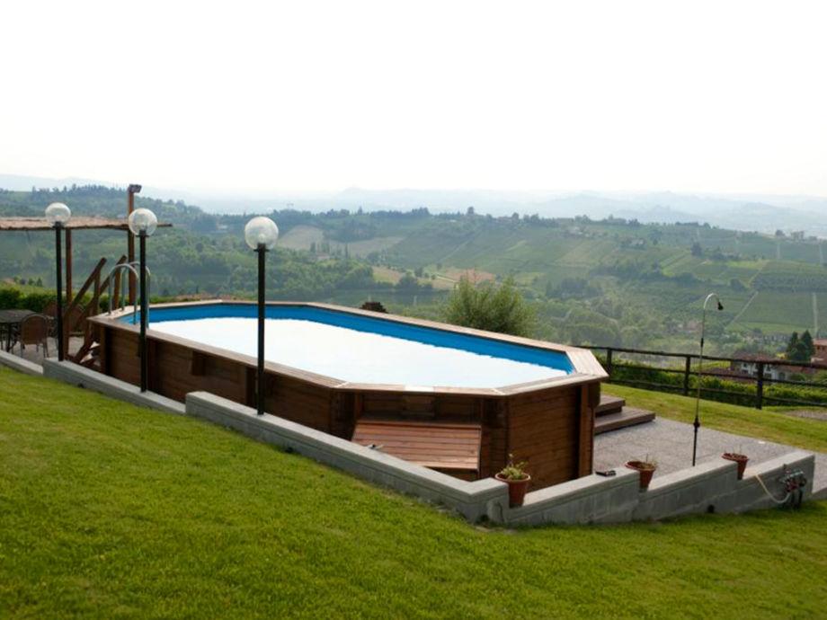 Der Pool mit Aussicht