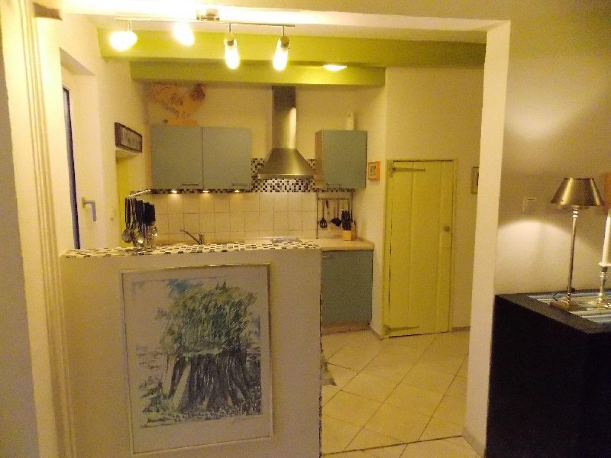 Kleine wohnzimmer mit kuche
