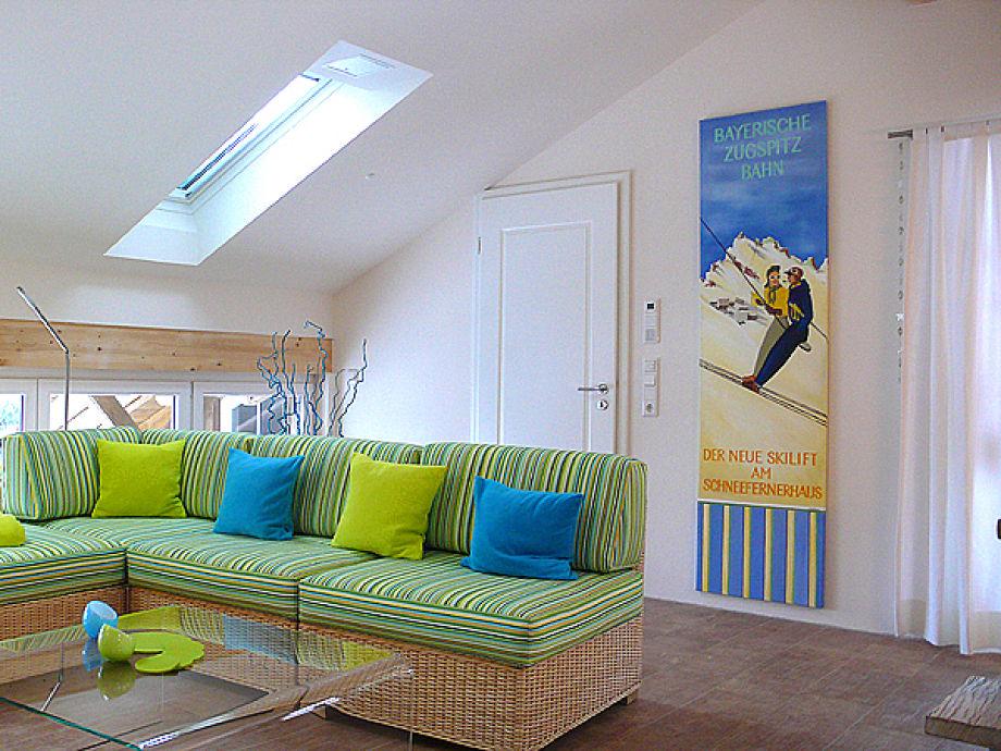 Hübsche Wanddekoration im Wohnzimmer
