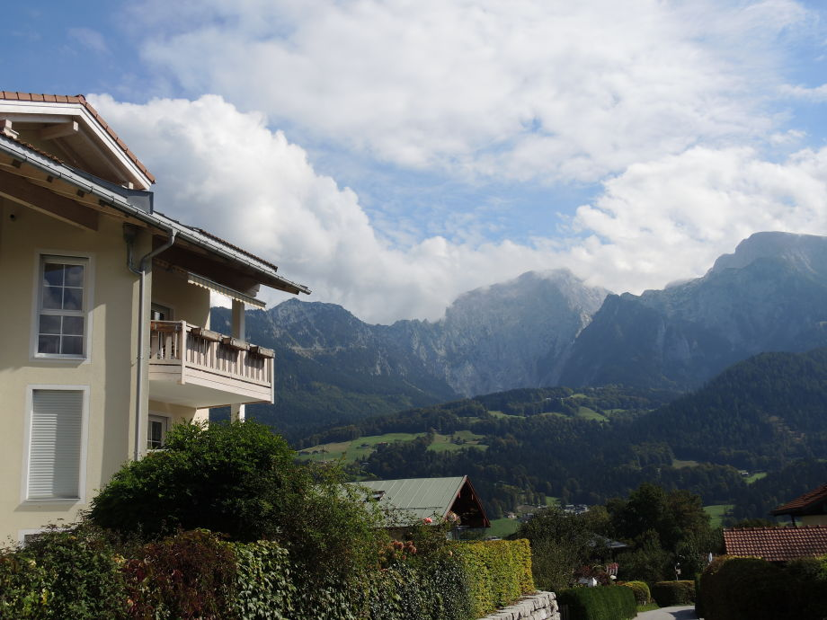 Aublick vom Balkon