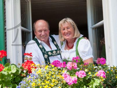 Ihr Gastgeber Peter und Gabriele Waibel