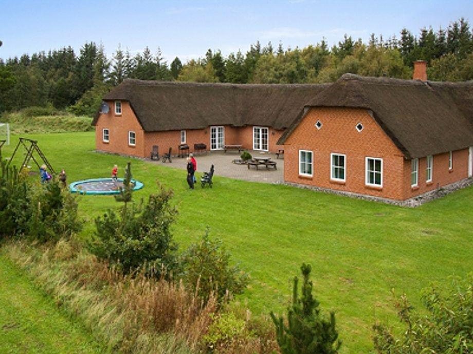 Außenansicht Husby Poolhaus