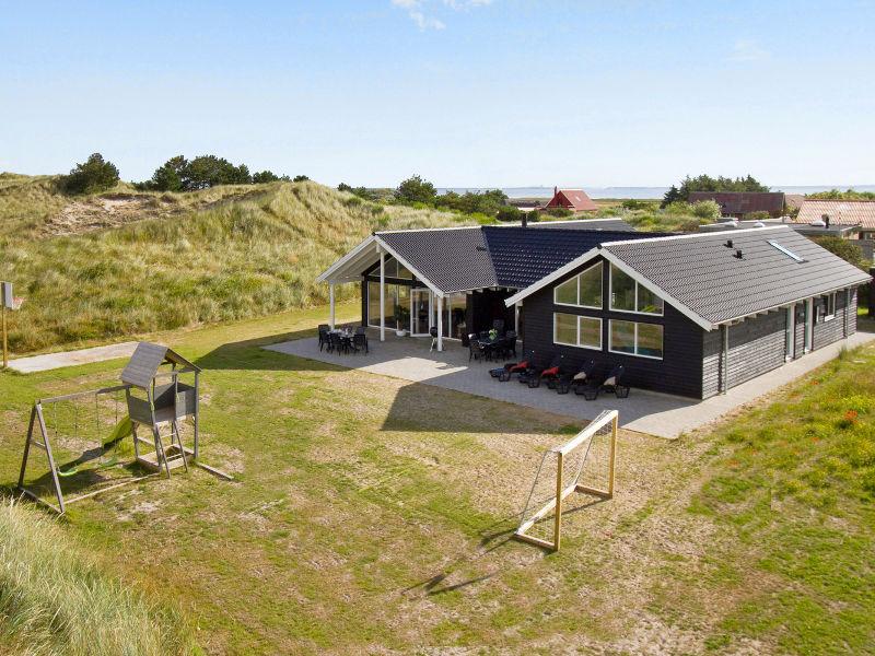 Ferienhaus Holmsland Klit Poolhus (D220)