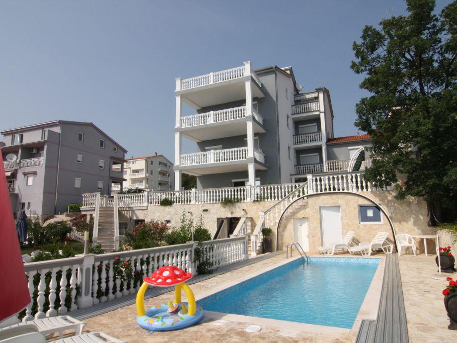 Swimmingpool-Villa Rosi in Crikvenica
