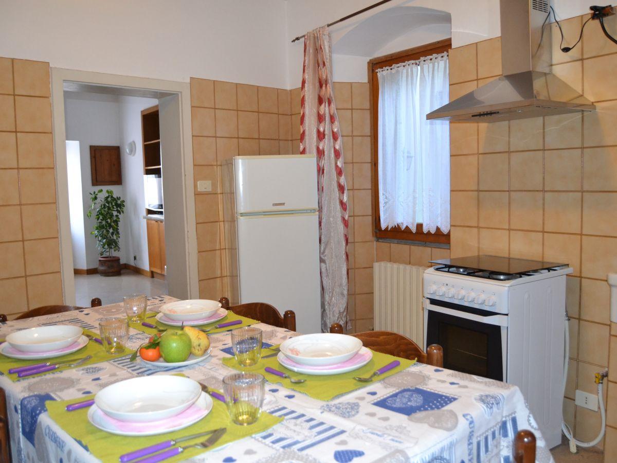 Ferienwohnung casa valentina brenzone sul garda firma for Die kuche