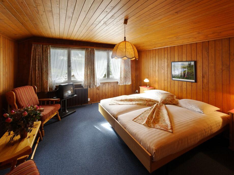 Ferienwohnung Endweghüsli: Schlafzimmer