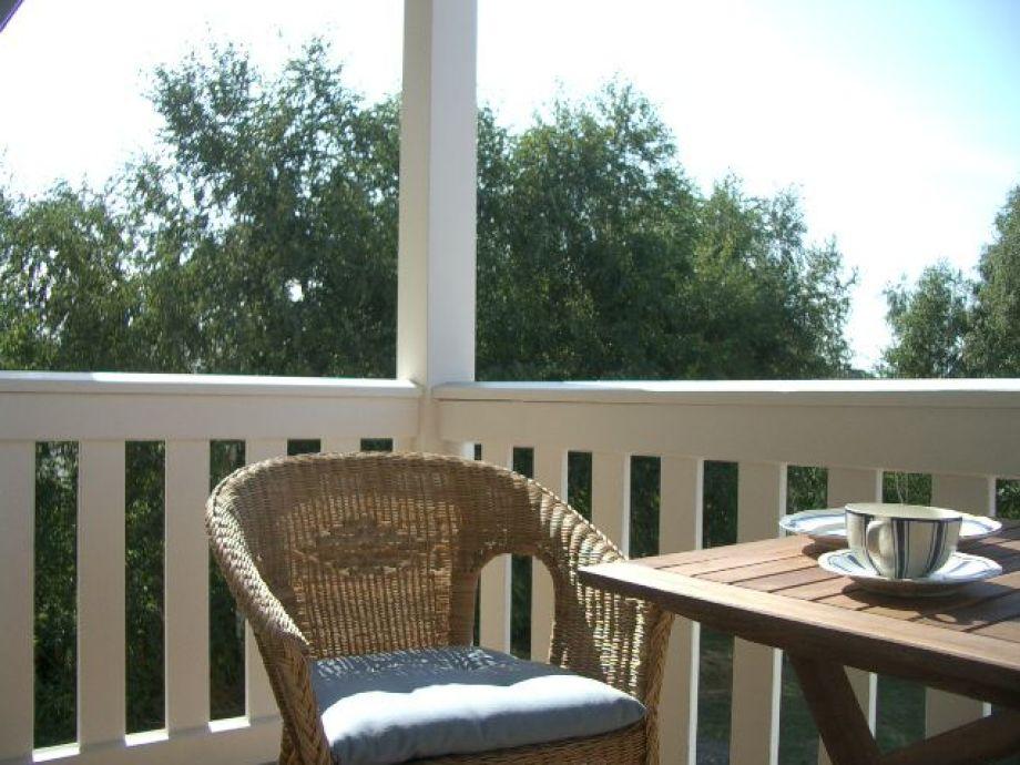 Entspannen auf einem der beiden Balkone