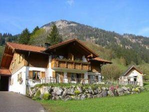Ferienwohnung Schrofenblick im Haus Eckwiesen