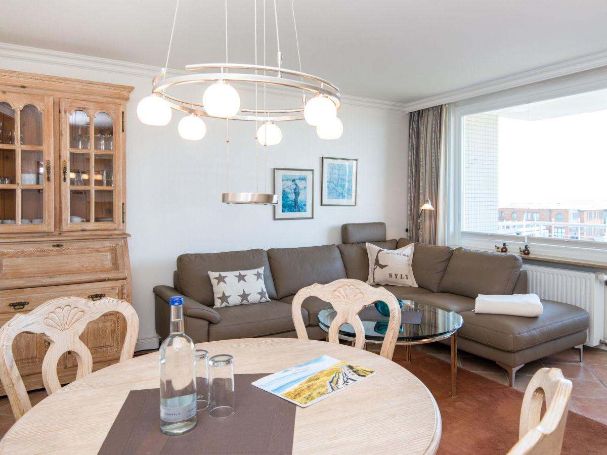 Ferienwohnung atlantik at15 westerland firma wiking - Couchgarnitur wohnzimmer ...