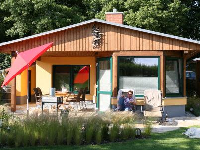 Comfortable holiday house in Neukalen, near Lake Kummerow, Mecklenburg-Western Pomerania.