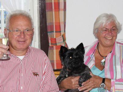 Ihr Gastgeber Monika u Norbert Goergen