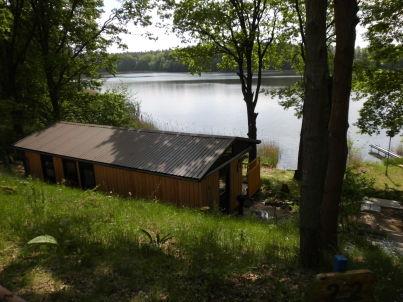 Kleines Jagdhaus am See