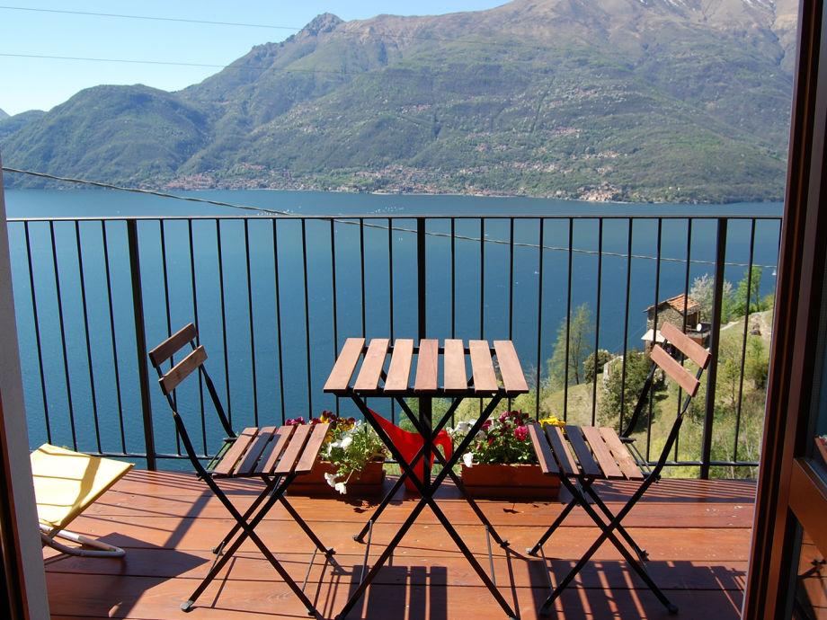 Wundervolle Aussicht vom Balkon