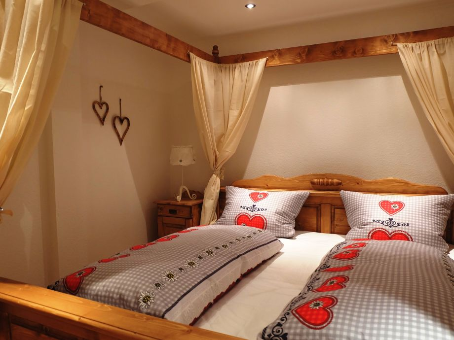 Sie schlafen in diesem romantischen Himmelbett