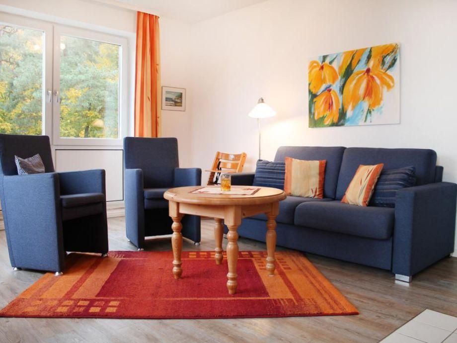 Goosbrink Whg. 07 - Blick auf den Wohnbereich