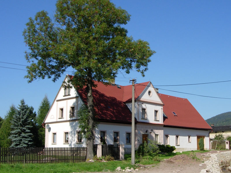 Ferienhaus in Mezimestí (Ost Böhmen)