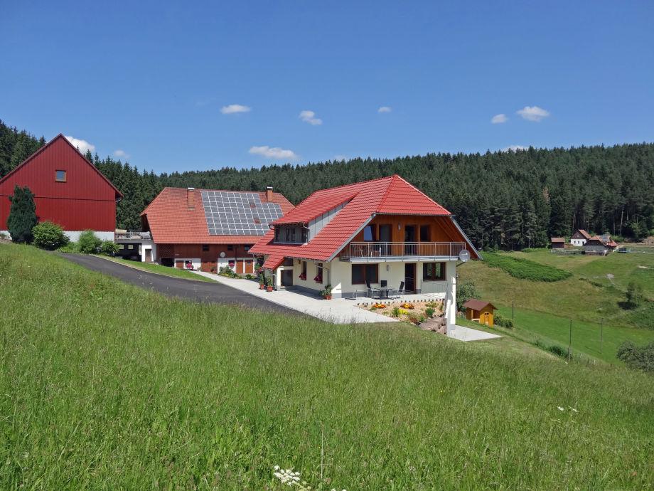 Der Florihof und das Ferienhaus
