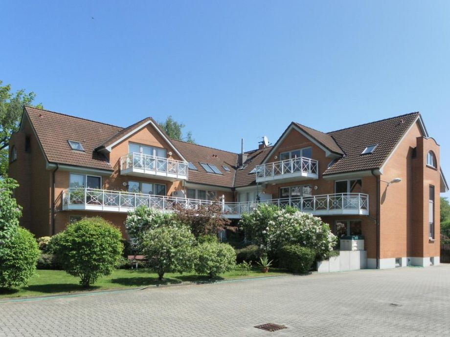 Mariannenweg - Blick auf das Appartementhaus von der Rückseite