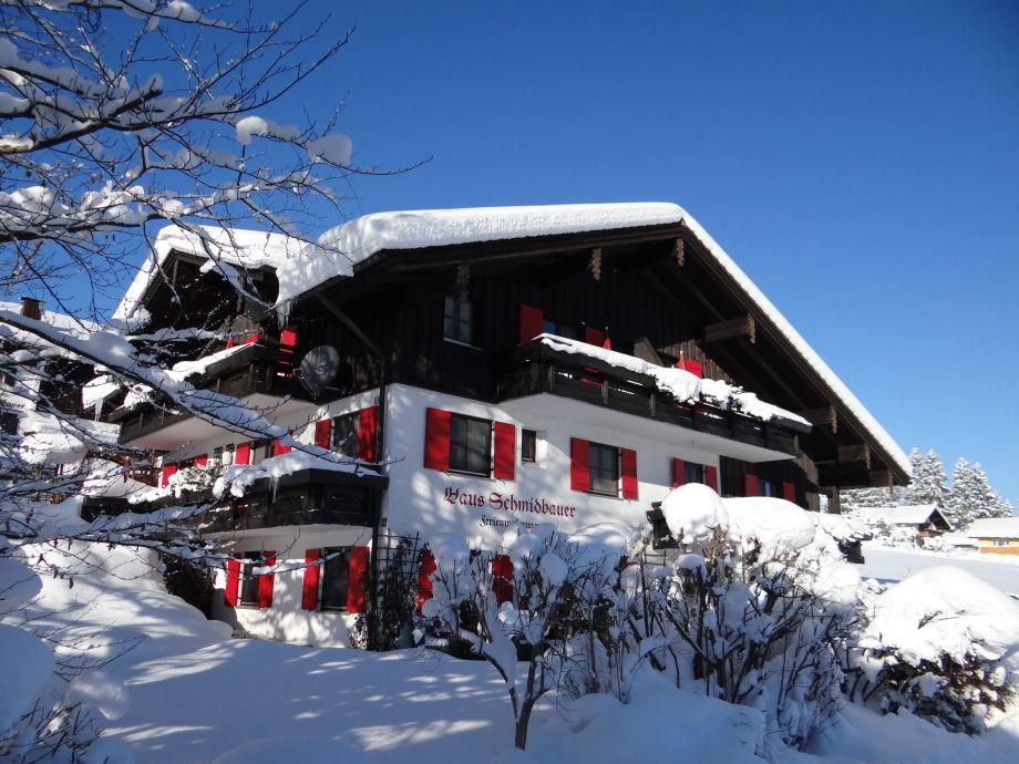Haus Schmidbauer Süd-Ost-Ansicht