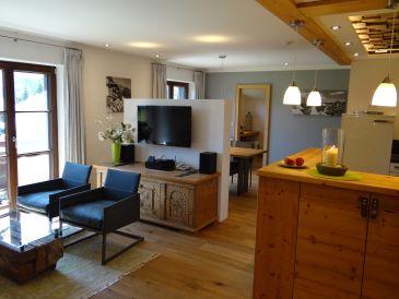 Holiday apartment Sonnenkopfblick with sauna