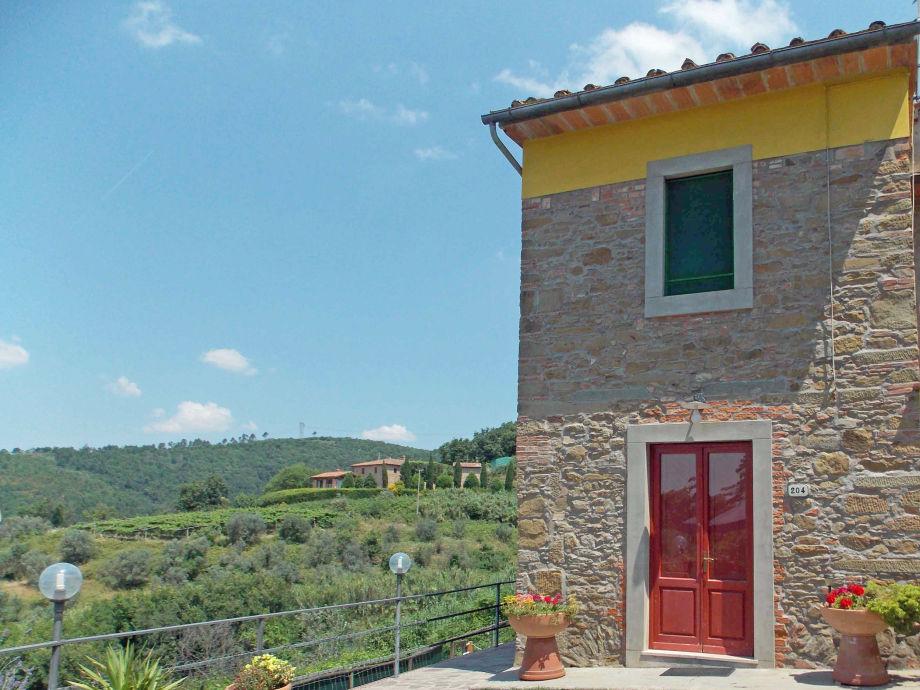 Teilansicht der Casa Alessia in Panoramalage