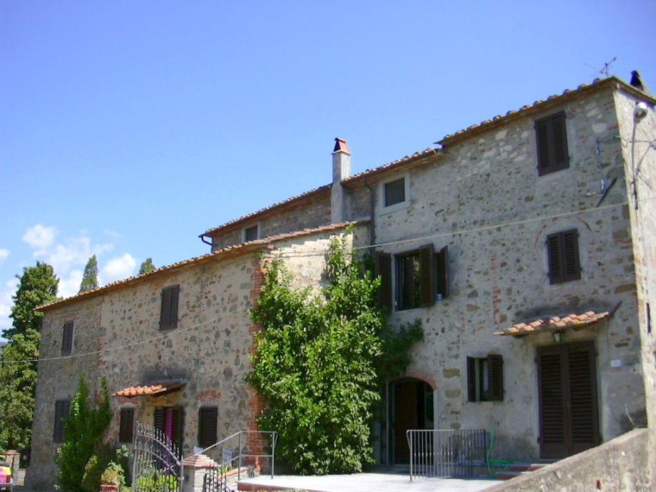 Die Casa Bellavista bei Larciano