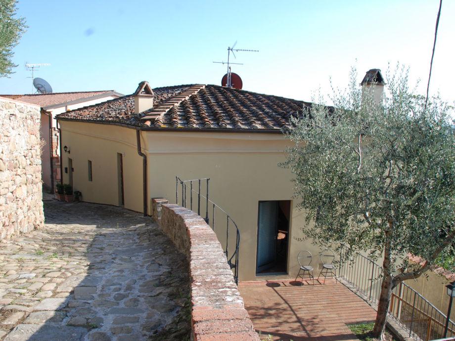 Die Casa Beatrice im pittoresken Örtchen Larciano Alto
