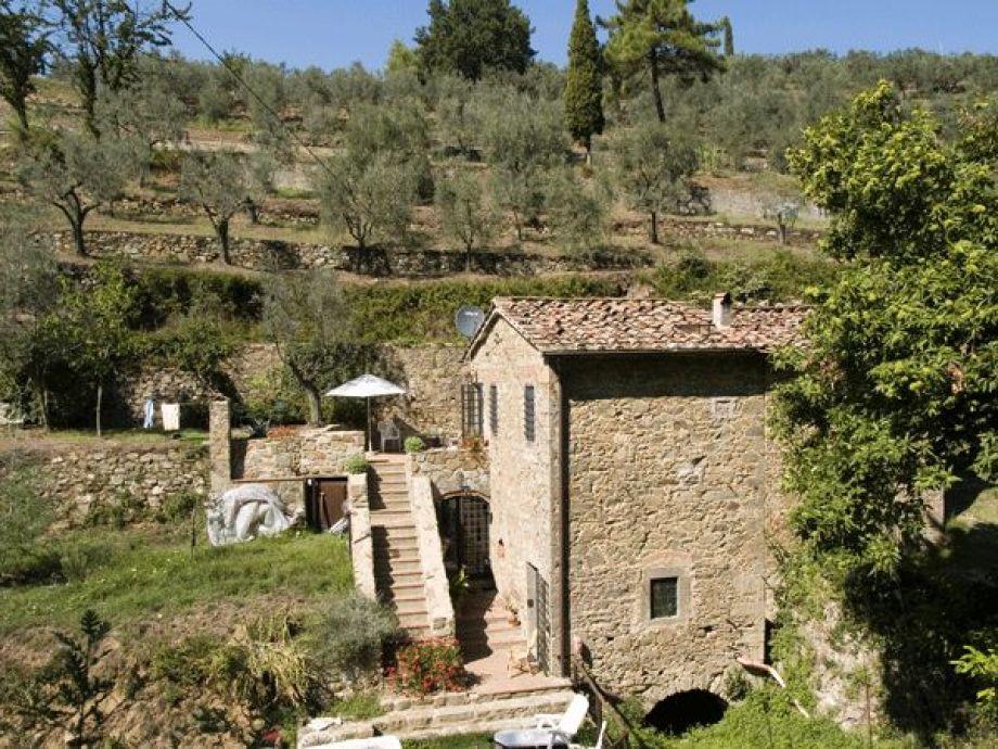 Die ehemalige Wassermühle bei Vinci